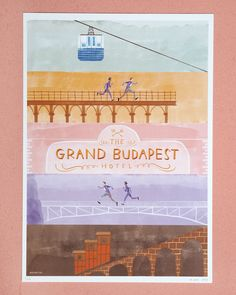 Very limited edition alternative movie poster of The Grand Budapest Hotel, by Wes Anderson.In or size. Only 25 prints x 420 mmMatte finish inkjet print on 140 grams paperNumbered and x 297 mmFull color printon 200 grams watercolour paperNumbered and Grand Budapest Hotel Poster, Harmony Korine, Spring Breakers, Alternative Movie Posters, Hotel S, My Animal, Illustration, Prints, Cards