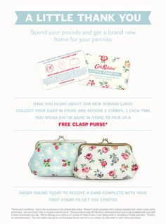 A little thank you. From Cath Kidston.