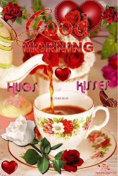 Morning Hugs, Good Morning Gif, Good Morning Messages, Good Morning Images, Good Morning Quotes, Good Morning Christmas, Evening Quotes, Morning Board, Best Funny Videos