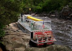 Taylors Falls Princess, St. Croix River cruise from Taylors Falls