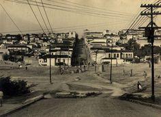 06-09-1935 - Praça 14 Bis no bairro da Bela Vista (Bexiga). Obras de abertura da via.