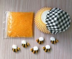 Bumble Bee cupcake kit!