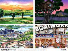 FamousFrames Storyboards, Animatic Artists, Storyboard Artists, Ivan Pavlovits