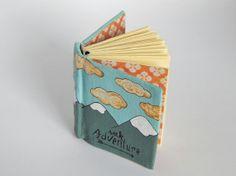 Miniature Handbound Book // Seek Adventure by PeelsandPosies