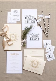 Photography: Blue Magpie Invitations - www.bluemagpieinvitations.com  Read More: http://www.stylemepretty.com/2014/12/04/burlap-letterpress-wedding-invitation/