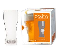 The multi-award winning Govino DS Beer Glass glass is now top-rack dishwasher safe! Made of an ultra-thin, flexible BPA-free polymer.Ideal for beer or cider Latest Gadgets, New Gadgets, Old Saybrook, Custom Window Treatments, Monogram Fonts, Pint Glass, Home Decor Trends, Carafe, Dishwasher