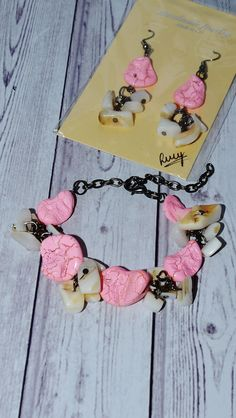Items similar to Adjustable Bracelet - Light Pink and Ivory Abalone Shell Bracelet - Jewelry Gift For Her - Beaded Bracelet - Abalone Jewelry, Christmas Gift on Etsy Etsy Jewelry, Boho Jewelry, Bridal Jewelry, Jewelry Gifts, Jewellery, Handmade Shop, Etsy Handmade, Handmade Gifts, Abalone Jewelry