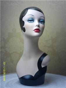 FAB New Hand painted Manequin Manikin Mannequin head by jianminglin1