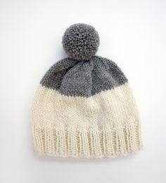 weekender hat - hand-knit wool