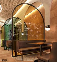 4SPACE Restaurant Design Transformation - Post COVID Restaurant Interior Design, Commercial Interior Design, Shop Interior Design, Commercial Interiors, Interior Design Inspiration, Restaurant Seating, Rustic Restaurant, Bar Design, Café Bar