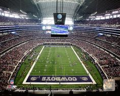 Stadium guide for AT&T Stadium: History, information, pictures, directions and merchandise of the Dallas Cowboys stadium Cowboys Stadium, Dallas Cowboys Football, College Football Playoff, Football Stadiums, How Bout Them Cowboys, Making The Team, Sports Photos, New York Giants, State Art