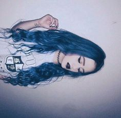 Image via We Heart It https://weheartit.com/entry/161573329/via/29738922 #beauty #grunge #hair #makeup #outfit #style #byme