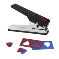 Pick Punch -- uses old credit cards, etc to punch out unique guitar picks - $25