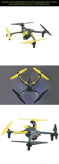 Dromida Ominus First-Person View (FPV) Unmanned Aerial Vehicle (UAV) Quadcopter Ready-to-Fly (RTF) Drone with Radio System, Batteries and USB Charger (Yellow) #technology #tech #shopping #kit #gadgets #plans #dromida #drone #fpv #camera #drone #products #racing #parts