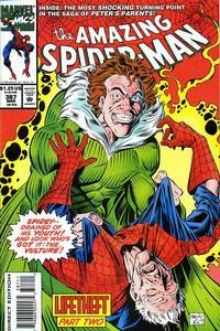 Cover Thumbnail for The Amazing Spider-Man (Marvel, 1963 series) #387 [Direct Edition]