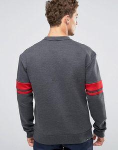 Puma   Puma Logo Crew Sweatshirt In Blue 83833607