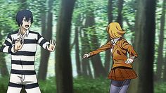 And can we take a moment to admire the amazing animation?  Prison School Anime - Hana and Kiyoshi