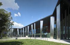 Palais de la Musique et des Congrès Strasbourg / Convention Centre Strasbourg | dietrich.untertrifaller architekten | Archinect