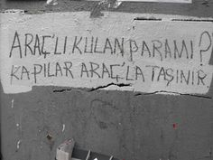 ...Doors used to carry with the vehicle. / İstiklal Avenue