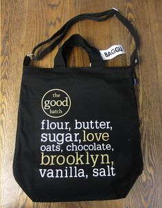 The Good Batch Baker Bag - A Brooklyn Based Bakery