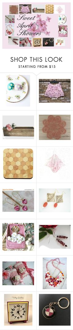 """""""Sweet April Showers: Handmade Gifts"""" by paulinemcewen ❤ liked on Polyvore featuring Rustico, BMW, rustic and vintage"""