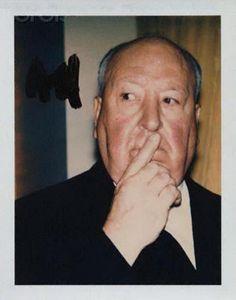 Alfred Hitchcock:  Andy Warhol Polaroids