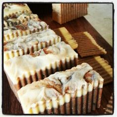 cinnamon cuppachino castile soap