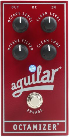 Aguilar Octamizer Analog Bass Octave Pedal | Sweetwater
