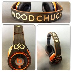 Check out these custom Beats by Dre! #Woodchuckcase #BeatsbyDre http://www.woodchuckcase.com/collections/customizable