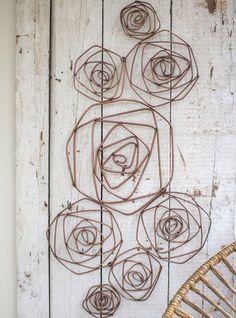 Rose Wall Sculpture
