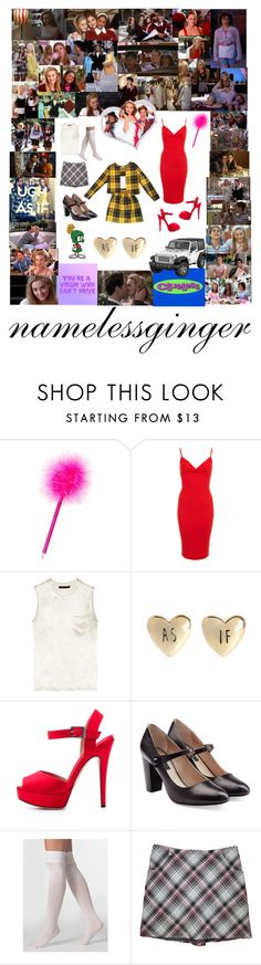 """""""clueless"""" by namelessginger ❤ liked on Polyvore featuring SilverStone, WHATEVER, Calvin Klein, Murphy, Miss Selfridge, Alexander Wang, Giambattista Valli, Marc Jacobs and American Apparel"""