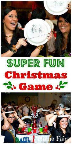 Fun Christmas Party Games, Xmas Games, Winter Birthday Parties, Christmas Games For Family, Holiday Games, Kids Party Games, Birthday Party Games, Kids Christmas, Christmas Fairy