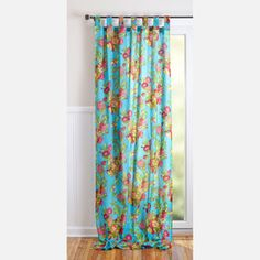 Happy Curtains For The Front Windows! Bird Curtain Turquoise Now Featured  On Fab.