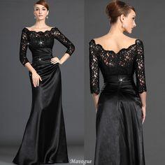 116.99 € http://www.mavogue.fr/robe-mere-de-mariee-plisse-couvert-de-dentelle-de-3-4-manche-petite-sirene-p290208092.html
