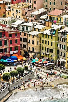 Cinque Terre, Italy  Q: Wherz de karz?   A: In a parking lot 2 miles above the town,