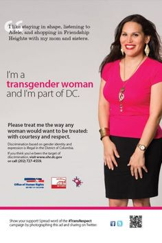 DC Campaign to raise awareness and acceptance of #transrespect. Transgender ...