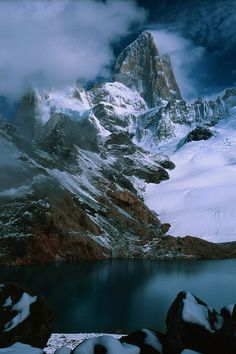 Fitzroy in clearing storm 3 - Monte Fitz Roy - Wikipedia, la enciclopedia libre