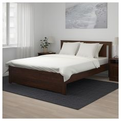 IKEA - SONGESAND Bed frame brown, Luröy