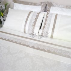 Bed of crochet Bed Sheet Sets, Bed Sheets, Linen Bedding, Bedding Sets, Bed Covers, Pillow Covers, Duvet Covers Urban Outfitters, Bedclothes, Linens And Lace