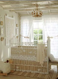 Neutral nursery - love how soft this is; add, add a little light pink for perfection