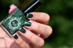 Spell Polish is a boutique/indie nail lacquer with a luxurious formula of glitters, micas and pigments- MINUS the toxins! Out Of The Woods, Swatch, Beautiful, Accessories, Going Out, Woodwind Instrument, Pattern, Ornament