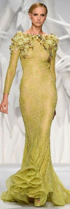 Abed Mahfouz Couture Fall 2013 by Tuatha