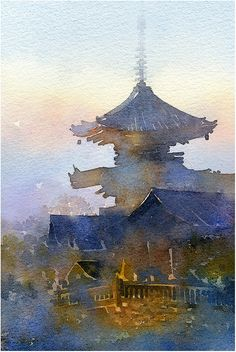 thomas w schaller - watercolor