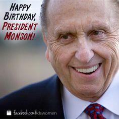 Happy Birthday, President Monson!