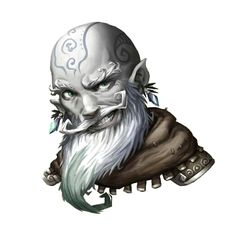 Svirfneblin Rogue - Pathfinder PFRPG DND D&D d20 fantasy