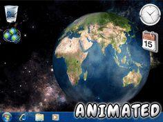 Fondo de Pantalla de Planeta Tierra (animado)