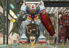 Amuro! Gundam, Lauching!! - White Base hanger in Mobile Suit Gundam 1979