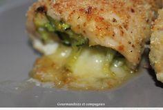 escalope de dinde farcie à la courgette , tomates séchées et mozzarella 3