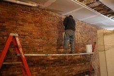 Treating the brick by DZ Restaurants, via Flickr