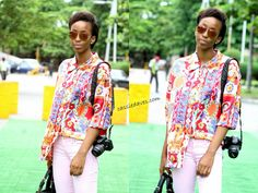 Cassandra Ikegbune: Outfit || Casual In Prints